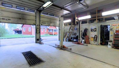 Svensk Fastighetsförmedling presenterar: Renshammarvägen 20, Verkstadsdel 3D Model